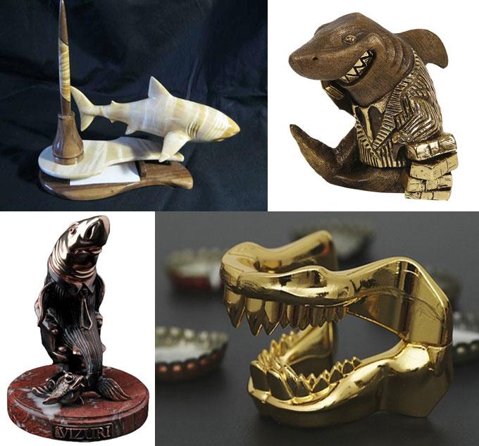 Фотографии деловых сувениров Акула бизнеса