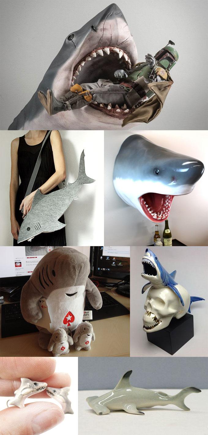 Фотографии коллекционных и дизайнерских акул