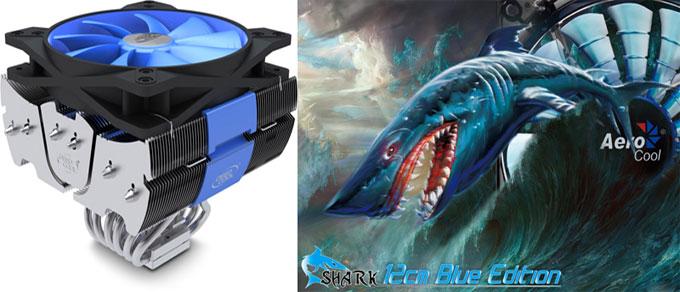 Фотографии кулеров для компьютера Shark