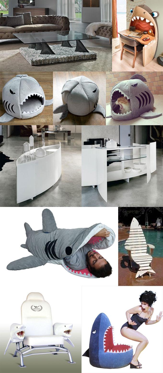 Фотографии мебели и дизайна интерьера Shark