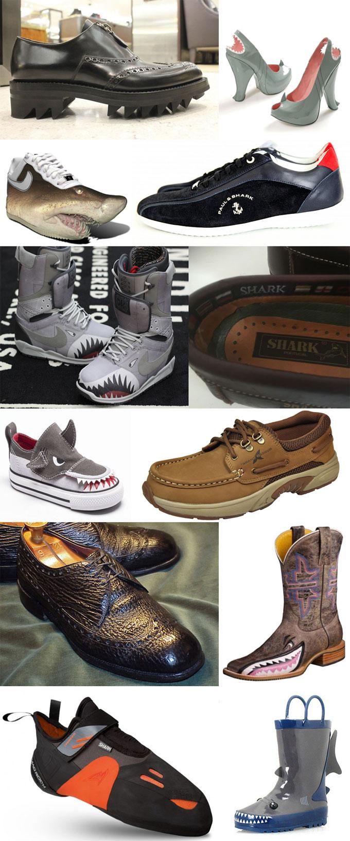 Фотографии обуви - сапоги и ботинки Акула