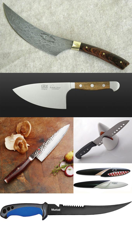 Фотографии поварских ножей Shark tooth