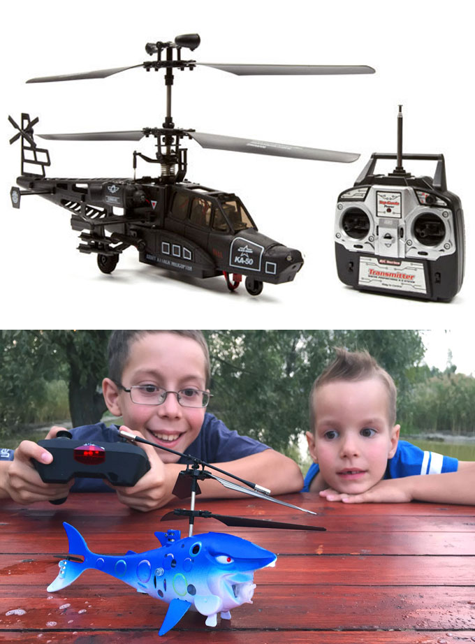 Фото - радиоуправляемые игрушки вертолеты Акула