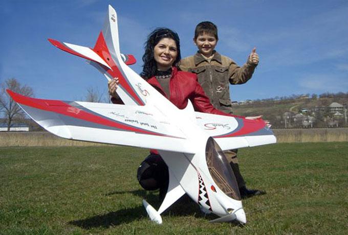 Фото - радиоуправляемый самолет Shark 30E