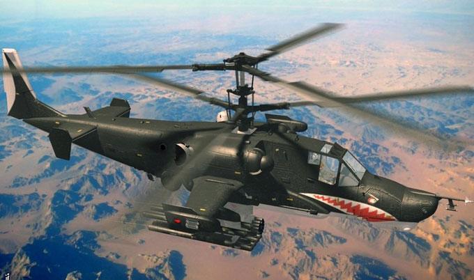 Фотография боевого вертолета Ка-50 Черная Акула