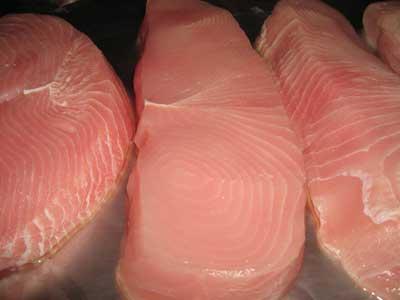 Вымачивание мясного филе акулы