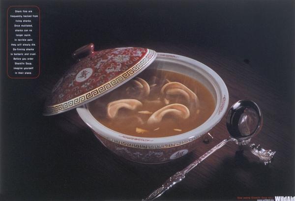 Суп из плавников акул - суп из ушей