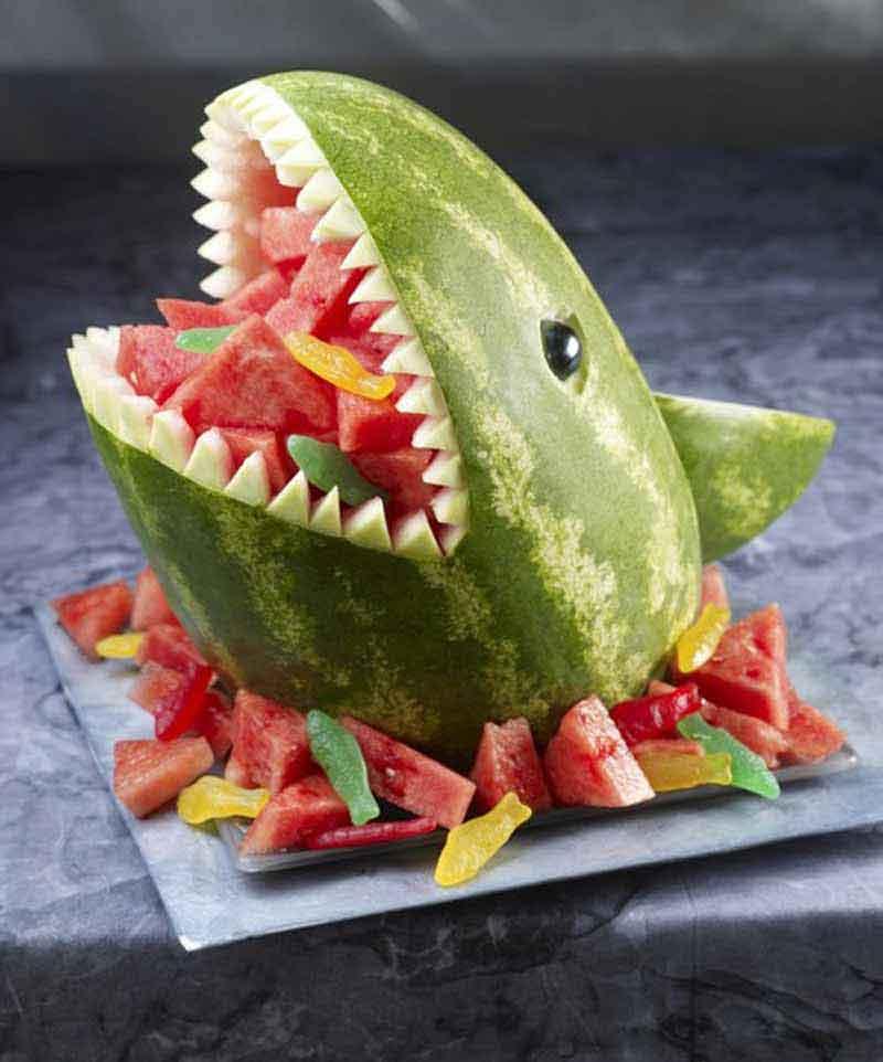 Арбуз акула