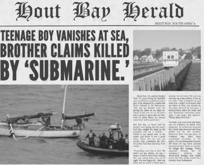 Акула Субмарина убила людей