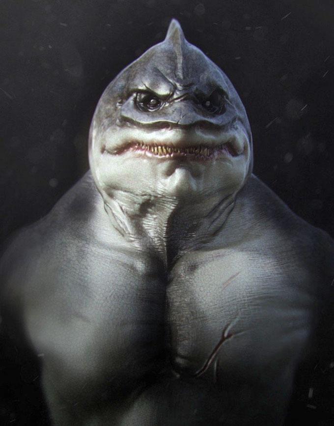Фото: разработки акулы-мутанта в лаборатории
