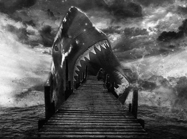 Фэнтези Акулий Бог