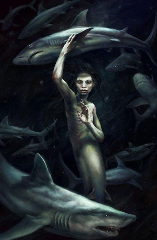 Любовная фантастика - Дети океанских глубин