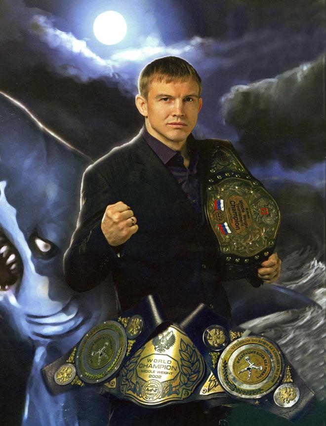 Боец Андрей Семенов Белая акула - смешанные единоборства