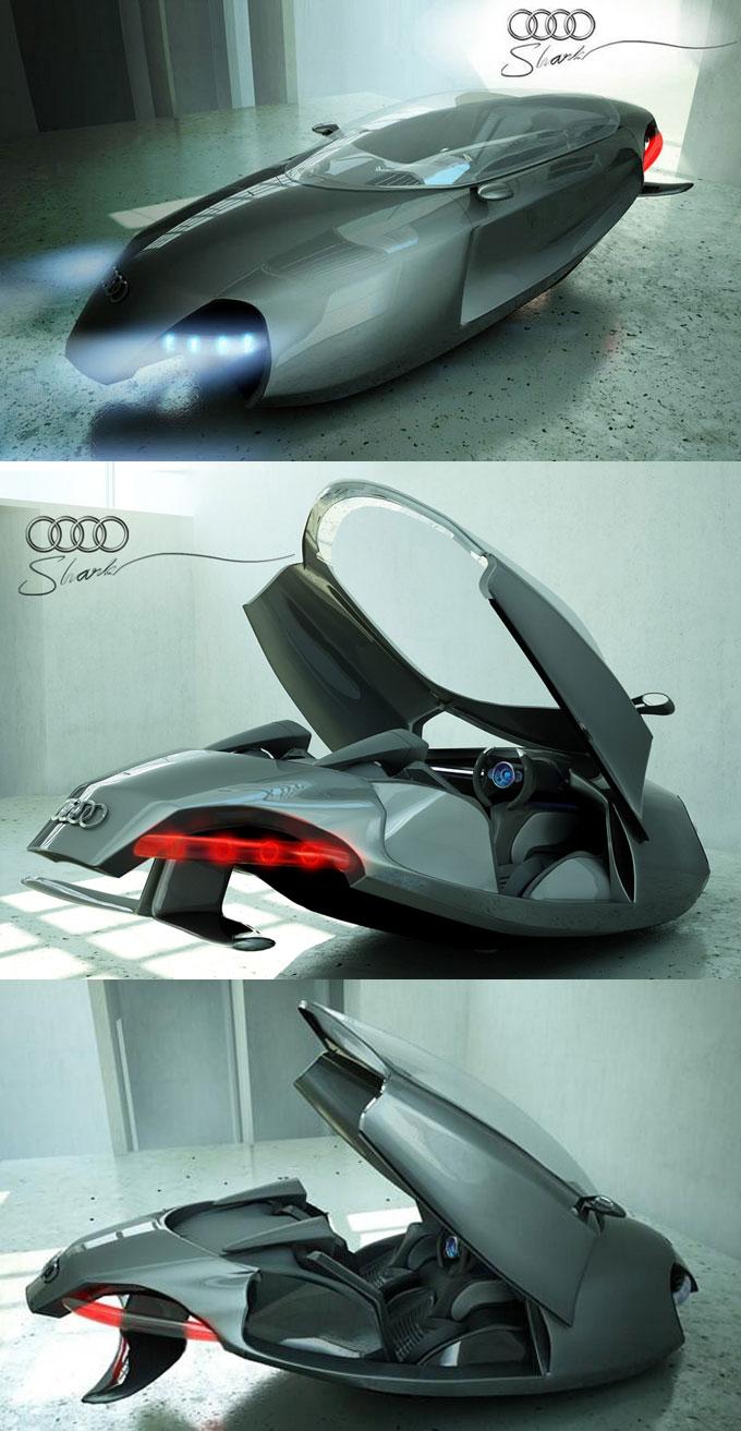 Фото автомобиля будущего Audi Shark