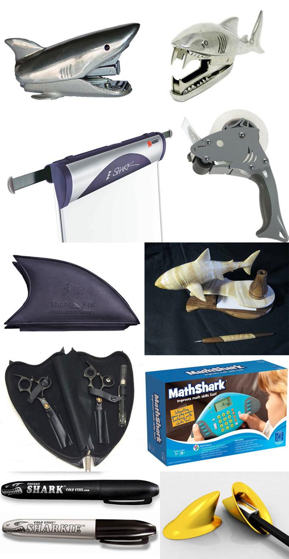 Фотографии канцелярских товаров Shark