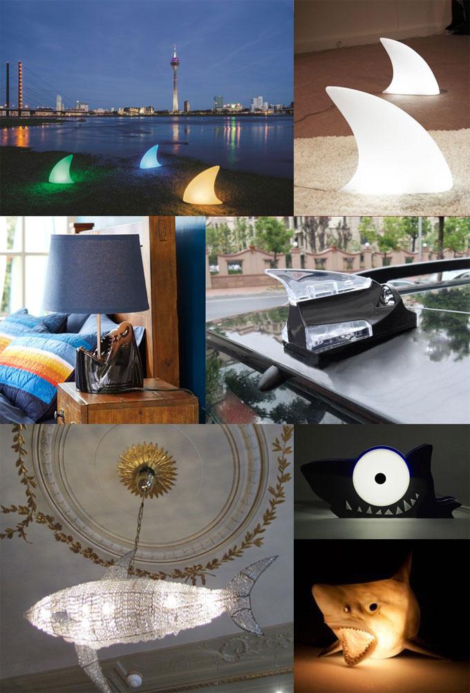 Фотографии ламп и светильников Shark