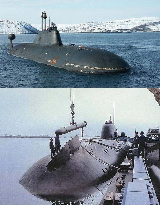 Атомный ракетный крейсер проекта 971 Акула