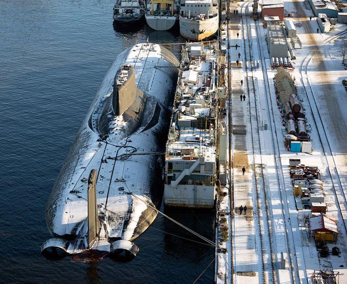 Атомная подводная лодка Тайфун (Typhoon)