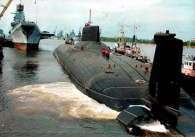 Самая большая атомная подводная лодка в мире