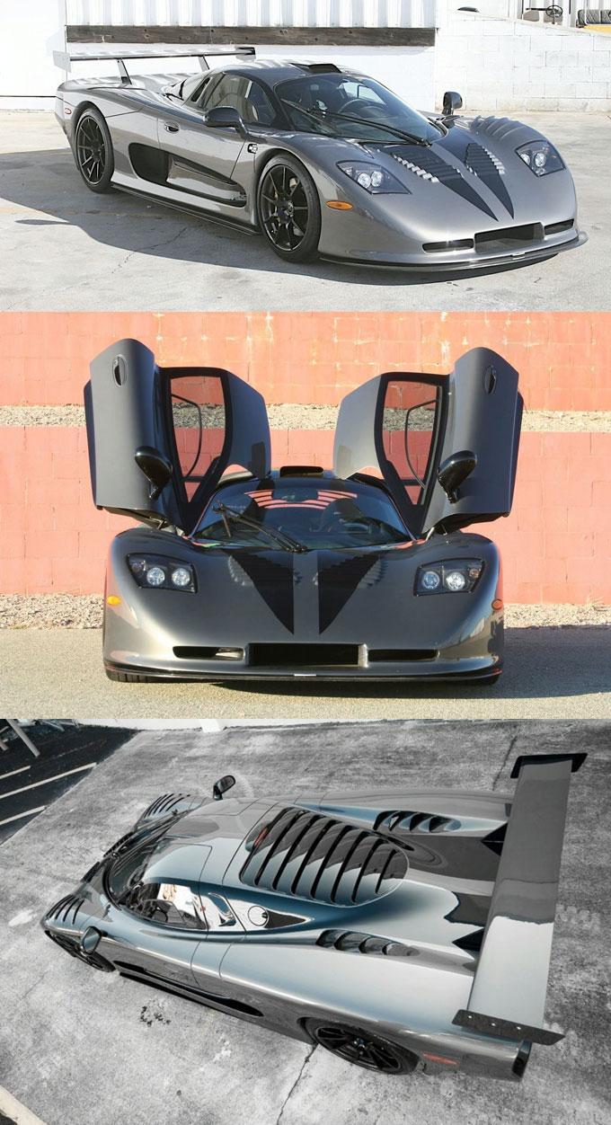 Фото Mosler MT900 GTR XX Twin Turbo Land Shark - автомобиль будущего