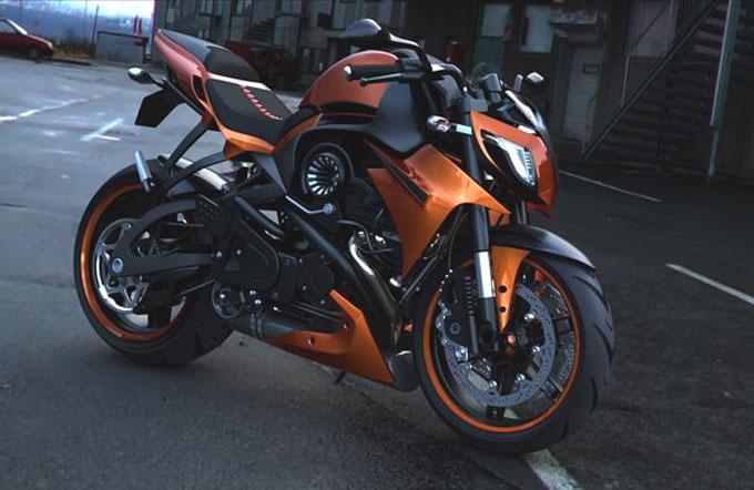Фото мотоцикла Custom Mako Shark