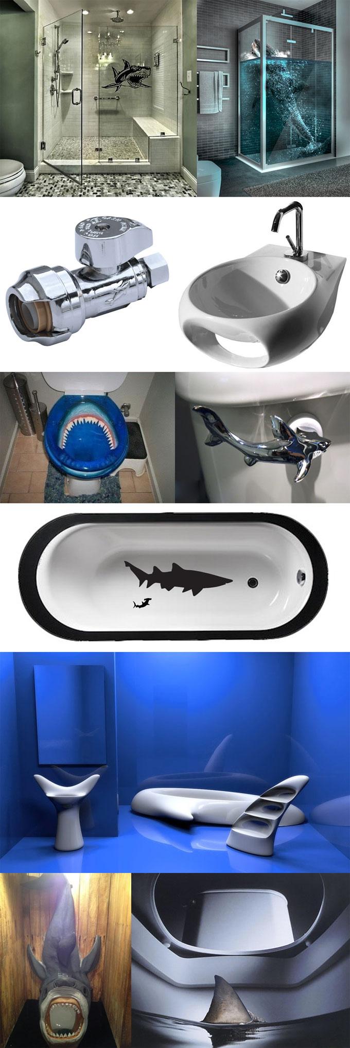 Фотографии сантехники и санузла Shark