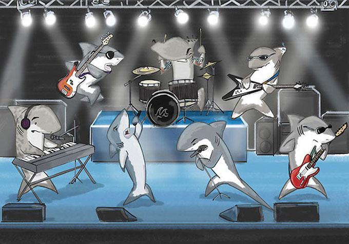 Какую музыку любят акулы?