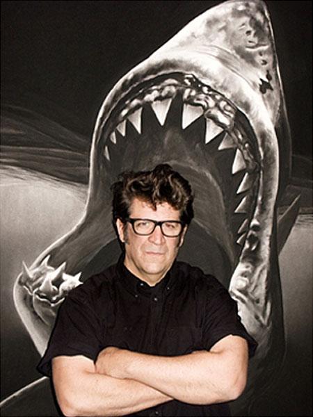 Роберт Лонго и акулы