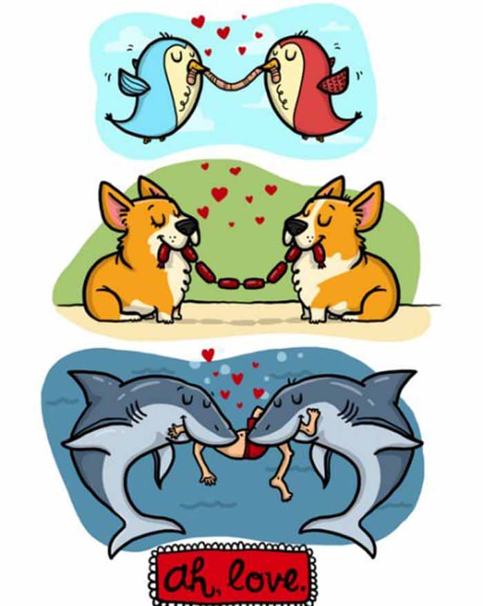 Акулы и любовь