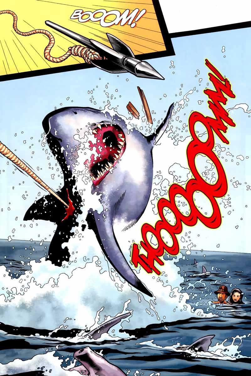Индиана Джонс и акулы 7