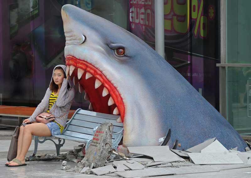 Свидание с акулой
