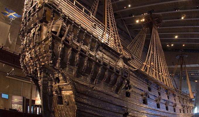 Фото: Древний затонувший корабль-галеон